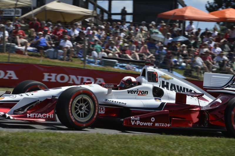Juan Pablo Montoya, Lexington, OH USA - July 31-August 2, 2015;  Honda Indy 200 at Mid-Ohio